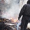 byzantine: (stock → fire; arson)