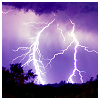 musyc: Lightning on purple sky (Purple: Lightning)