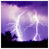 musyc: Lightning on purple sky (Purple: Lightning)