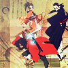 esmenet: the three main characters of Samurai Champloo being iconic together (the best threesome in the goddamn world)