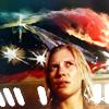 jenwryn: Kara, beneath her painting. (bsg • kara; thought you knew)
