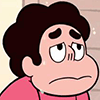 buzzy: Steven Universe from the show of the same name looking a bit uncomfortable (Steven Universe 2)
