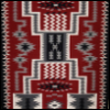 ambersweet: Navajo Rug in the Storm Pattern (Annie)