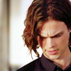 leroux: Matthew Gray Gubler as Spencer Reid in Criminal Minds looking down (pensive spencer)