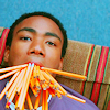 catwalksalone: Troy has a mouthful of pencils. As you do. (community troy don't make me write stuff)