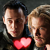 nicevenn: (thorki hearts)