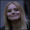 verushka70: Veronica smiles smugly before giving the finger (Veronica Mars movie)