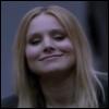 verushka70: Veronica smiles smugly before giving the finger (smug smile, Veronica Mars movie)