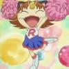 pokemon: Meowth cheerleading (meowth)