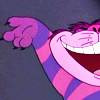 redsnake05: The Cheshire cat grins (Happy: Cheshire grin)