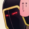 mouthbreathing: (jet black mask)