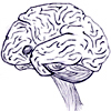 magibrain: A brain with eyes and an adorably innocent smile which you should not at all trust. (magibrain)