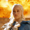 theleaveswant: still from Game of Thrones; Daenerys (Emilia Clarke) looking down imperiously in front of a wall of fire (burn shit down)