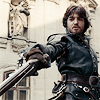 chiswickflo: Athos threatening people but, you know, beautifully (athos)