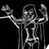 syntaxofthings: Raven from Teen Titans, black and white ([Teen Titans] Raven!)