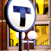 sofiaviolet: round T logo atop signpost (t)
