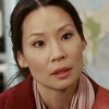 pensnest: Lucy Liu as Joan Watson stares in slightly disbelieving way (Joan Watson wonders at you)