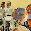 sara: girls, bicycles, train (girls bikes n train)