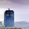 juniperphoenix: The TARDIS on a barren plain (DW: TARDIS)