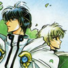 somariel: Lantis & Eagle from Magic Knight Rayearth, in formal clothing after the series (Lantis & Eagle)