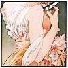 cherry: (mucha back, charming)