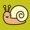 mirrorsoul: A cute little snail. I feel like a snail sometimes. (Cute)