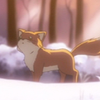 yes_im_kawaii: A fox that is totally not Makoto. ([event] what is this)