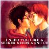 plotbunniofdoom: (Harry/Ron: I need you like a seeker need)