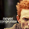 geekblot: (never compromise)