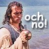 sholio: Highlander-Duncan holding lopped-off sword (Highlander-och no!)