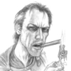 vixenmage: Vimes, lighting a cigar with a dragon; from Wikipedia (Vimes)