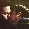 tinny: Stiles and Derek kiss (tw_sterek kiss)