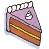gen_is_gone: clip art of a slice of cake (equivalent of a shrug)