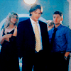 anaraine: Jess, Sam, and Dean looking classy in formal wear. ([spn] all dressed up)