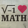 thez: I believe in imaginary numbers and they believe in me! (Math - I HEART MATH (GET IT?))