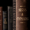 darkemeralds: An old book whose spine reads Signsls and Cyphers, with the text DarkEmeralds (Signs)