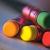 dawnzlin: colorful erasers (erasers)