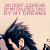 "apollymi: Zack facing away, text reads ""So don't judge me by my failures, only by my dreams"" (FF7**Zack: Judge me only by my dreams)"