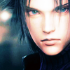 apollymi: Zack staring intently, no text (FF7**Zack: Intensity)