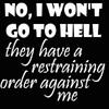 teresafloyd: (Hell restraining order)