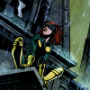 mortalcity: Rikki Barnes, perched on a rooftop in the rain (Marvel | girl without a world)
