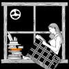 liseuse: (reading in the dark)