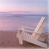 etui: Adirondack chair on beach (Beach)