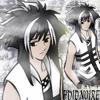 hvid_noire: Hvid Noire. An original character. Me. (monochromatic)