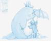 lennixse7en: Totoro and Mai-chan (Totoro)
