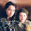 "sashajwolf: photo of Lucy and Susan with text ""Daughters of Eve"" (Daughters of Eve)"