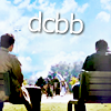 lilyleia78: Dean and Cas sitting on benches side by side captioned DCBB (Supernatural: DC BB)