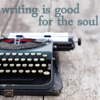 """rhi: Typerwriter.  """"Writing is good for the soul."""" (writing)"""