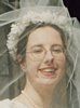 lizwithhat: photo of me wearing my wedding veil (veil)