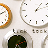 sashajwolf: photo of clocks (clock)